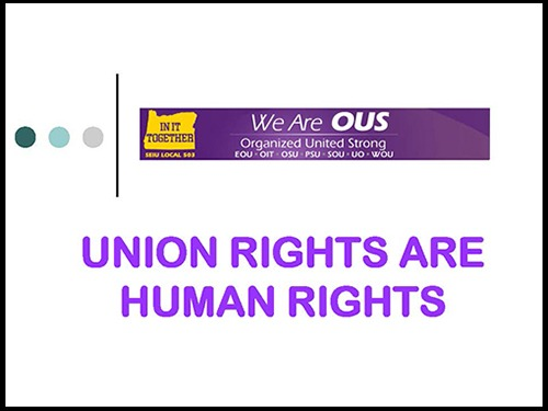 Union Rights Human Rights First