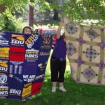 Quilts being raffled as strike hardship fundraiser