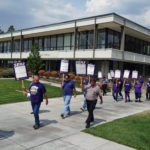 Marching on campus