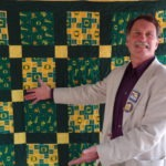 Picture of member with quilt