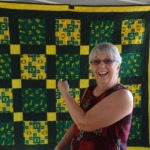 Picture of another member with quilt