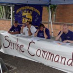 Strike Command volunteers calling members