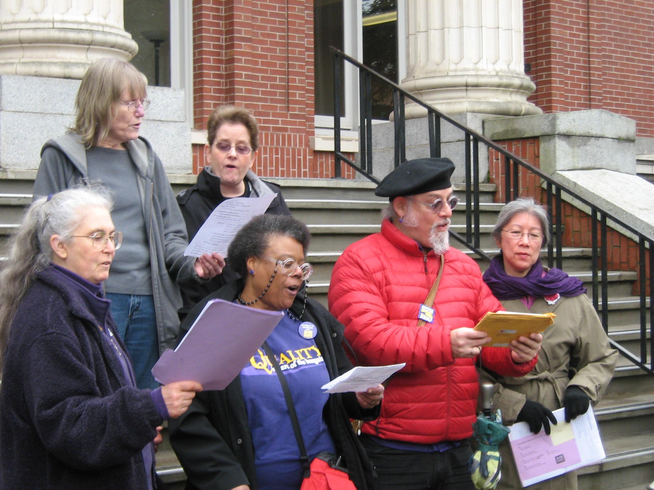 Campus Labor Choir