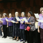 Image of the labor choir singing