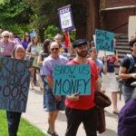 DSC09986 - Marching to Johnson Hall - SEIU