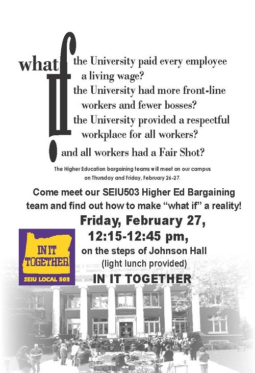 What If bargaining Rally