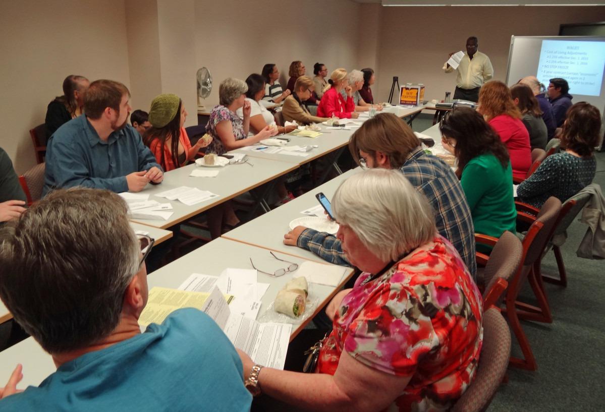 Photo of ratification meeting #1