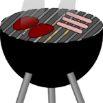 Graphic of BBQ Grill