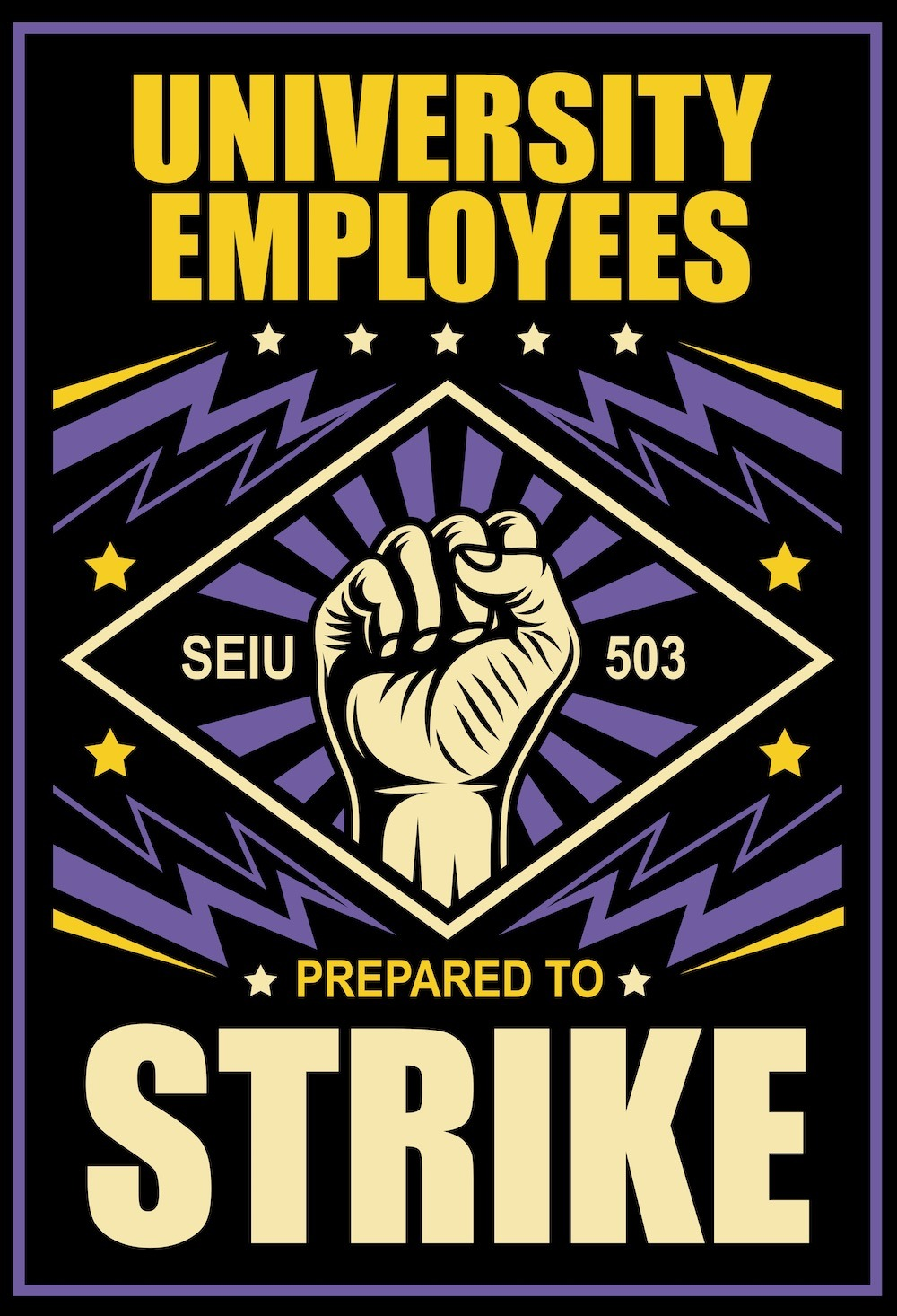 Higher Ed Strike Pledge: Add Your Name Today!
